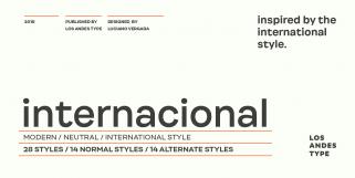 Internacional (Los Andes Type)