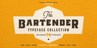 The Bartender (Vintage Voyage Design)