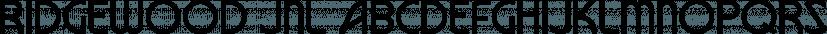Ridgewood JNL font family by Jeff Levine Fonts