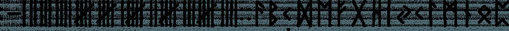 Paradox Runa font family by Dawnland