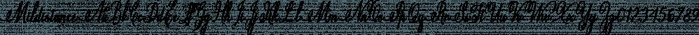 Mildistance font family by Letterhend Studio