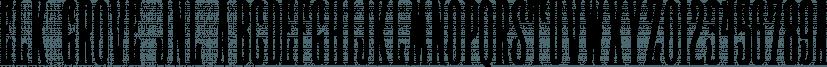 Elk Grove JNL font family by Jeff Levine Fonts