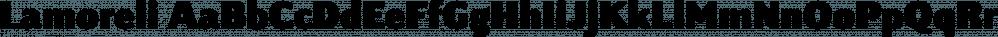 Lamoreli font family by Aviation Partners