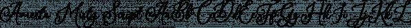 Amerta Misty Script font family by Letterhend Studio
