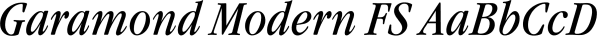 Garamond Modern FS font family by FontSite Inc.