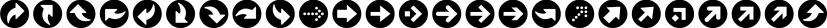 ClickBits font family by Fonthead Design