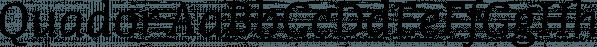 Quador font family by Fontador