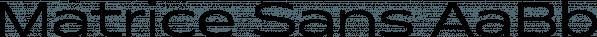Matrice Sans font family by Studio Sun