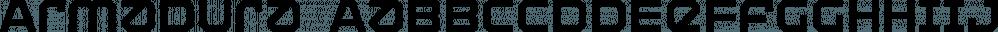 Armadura font family by Graviton