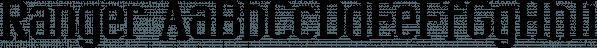 Ranger font family by Ingrimayne Type