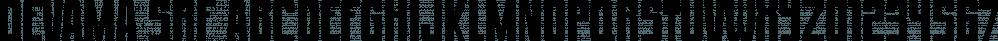 Devama SRF font family by Stella Roberts Fonts