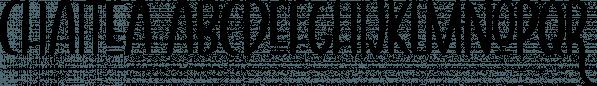 Chaitea font family by Wilde Mae Studio