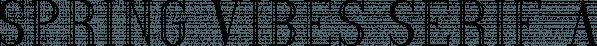 Spring Vibes Serif font family by Vladfedotovv
