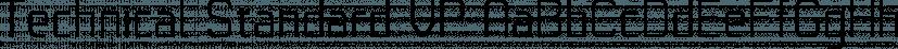Technical Standard VP font family by VP Type