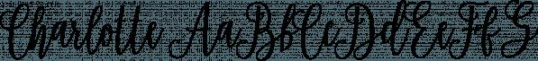 Charlotte font family by Genesislab