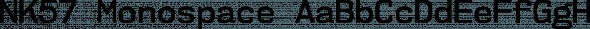 NK57 Monospace font family by Typodermic Fonts Inc.