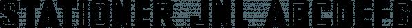 Stationer JNL font family by Jeff Levine Fonts