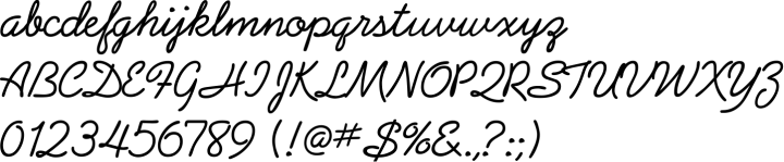 Arizona Font Specimen
