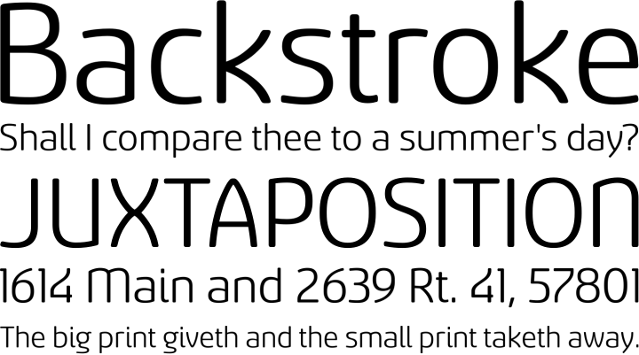 Sancoale Softened Font Phrases