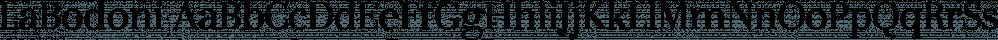 LaBodoni font family by Wiescher-Design