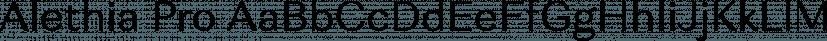 Alethia Pro font family by Mint Type