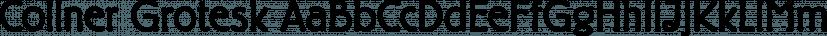 Collner Grotesk font family by FontSite Inc.