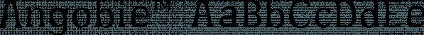 Angobie™ font family by MINDCANDY
