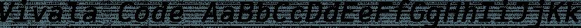 Vivala Code font family by Johannes Hoffmann