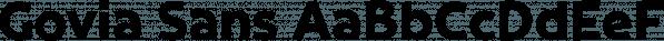 Govia Sans font family by Marc Lohner