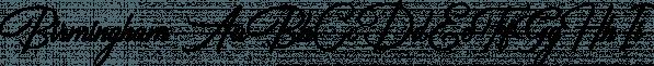 Birmingham font family by Letterhend Studio