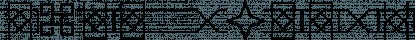 Framealot font family by Ingrimayne Type