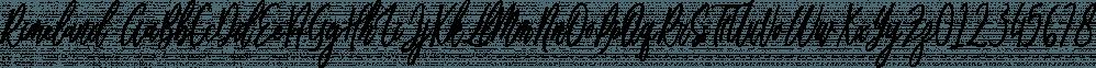 Rimeland font family by Letterhend Studio