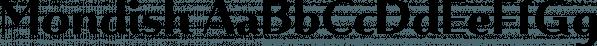 Mondish font family by Tour de Force Font Foundry