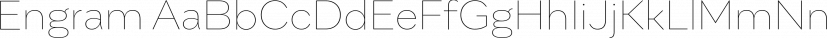 Engram font family by BORUTTA