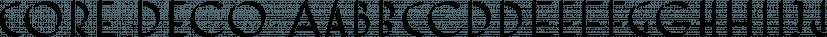 Core Deco font family by S-Core
