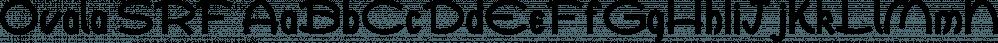 Ovala SRF font family by Stella Roberts Fonts
