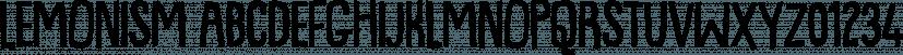 Lemonism font family by Bogstav