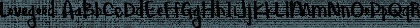 Lovegood font family by Brittney Murphy Design
