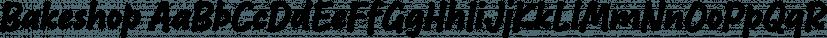 Bakeshop font family by Mika Melvas