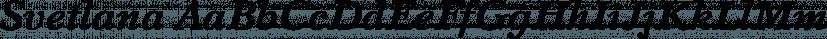 Svetlana font family by ParaType