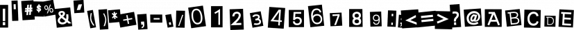 Earwig Factory font family by Typodermic Fonts Inc.