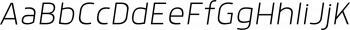 Anteb Extra Light Italic mini