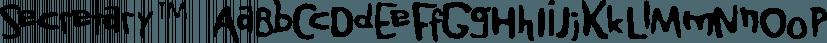 Secretary™ font family by MINDCANDY