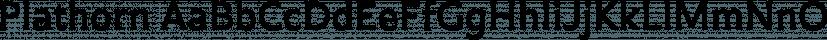 Plathorn font family by Insigne Design