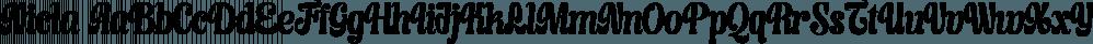 Nicla font family by madeDeduk