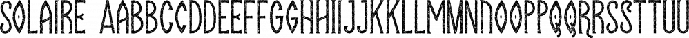 Solaire font family by Tugcu Design Co