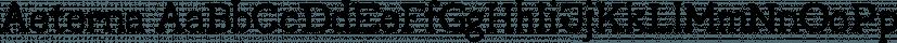 Aeterna font family by Dawnland