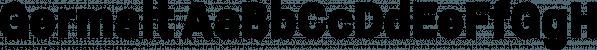Germalt font family by Typesketchbook