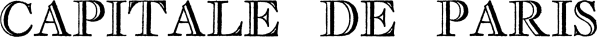 Capitale de Paris Ombree font family by Intellecta Design
