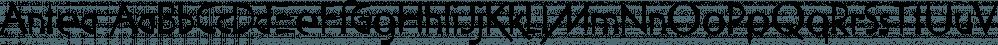 Antea font family by Wiescher-Design